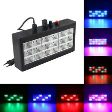Stage DJ Club Disco KTV Party Bar Ball Projector 18 RGB LED Effect Strobe Lights