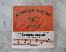 1 SET of NEW Baritone UKULELE STRINGS Made in USA & more available - can post
