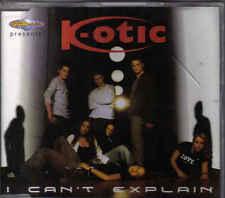 K-Otic-I Cant Explain cd maxi single incl video