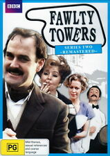 FAWLTY TOWERS - SERIES TWO REMASTERED - BRAND NEW & SEALED R4 DVD (JOHN CLEESE)