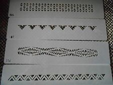 Airbrush Temporary Tattoos Stencil Set #47 Tribal Armbands New Island Tribal!