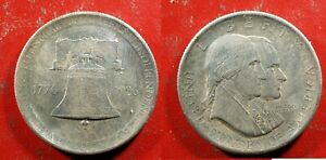 1926 U.S. SESQUICENTENNIAL Commemorative Half $ - Solid AU   stk#J712
