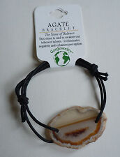Brazilian AGATE BRACELET - US Seller - Natural Stone Fashion Jewelry - NEW A33