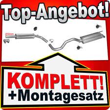 Auspuff VW POLO (6N 6N2) 1.7 1.9 SDI 1.4 TDI Schrägheck Auspuffanlage 025