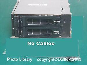 Dell KU146 Flex Bay Kit PowerEdge 2900 2xCaddies+Screws NoCables 1 Year Warranty