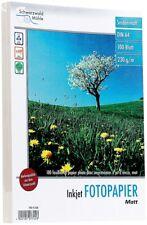 Druckerpapier 2X100 Blatt Fotopapier Matt 230g/m² A4 inkl. Rechnung mit MwSt