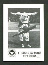 1975 Tucson TOROS Team Issue #23 FREDDIE the TORO Mascot