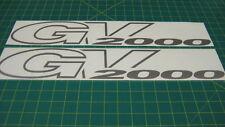 Suzuki Grand Vitara GV2000 Calcomanías Pegatinas Gráficos 2.0 litros gv 2000 Reemplazo