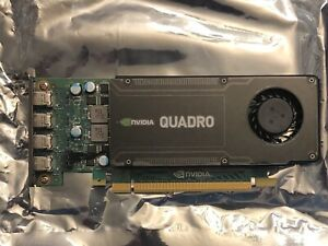 NEW Dell Nvidia Quadro K1200 4GB GDDR5 4x Mini DisplayPort Graphics Card 5Y5J0
