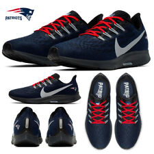 New England Patriots Nike Pegasus 36 Shoes Air Zoom NFL Limited Sneakers Running