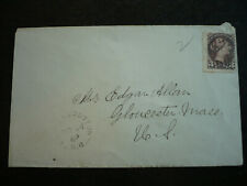 Postal History - Canada - Scott# 41 on Cover to Gloucester, Mass, US