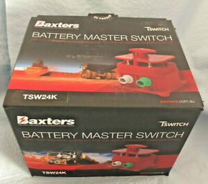 Baxters TswitchTSW24K Battery Master Switch for Dangerous Goods. Made in Germany