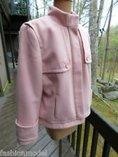 CHICOS lucious PINK BOUTIQUE style dress ZIP JACKET coat LADIES all SEASON  S/M