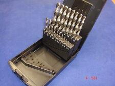Conjunto De Taladro por Ruko Terrax HSS Suelo Para Metal 19 Pieza 1mm - 10mm X 0.5mm
