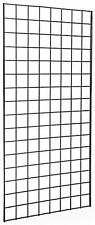 Pack of 3 Gridwall Panels 2'x4' BLACK