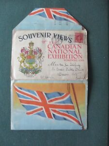 SOUVENIR VIEWS - THE CANADIAN NATIONAL EXHIBITION ,TORONTO , CANADA - TO UK 1948