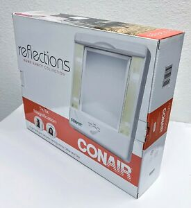 NEW Conair Reflections Home Vanity Collection 4 Light Settings 5x Magnification