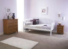 Single Wooden Day Bed Guest Bed Sofa Daybed Bedframe 3ft Single Bed Only