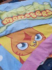 Girls/boys Moshi Monsters Single Duvet Cover And Pillowcase