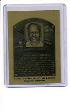 1981-89 HALL OF FAME METALLIC PLAQUE Josh Gibson NR-MT Negro League Legend