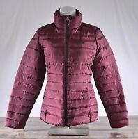 Spyder Prymo Down Jacket Women's Size LARGE Fini/Black 162005 Winter Puffer