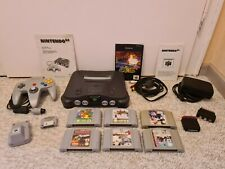 !!! Original Nintendo 64 N64 Spielkonsole NUS-001 + 6 Spiele TOP !!!