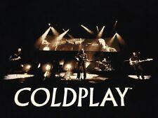 Coldplay Small Black T-shirt The Scientist Viva La Vida Paradise Yellow X&Y