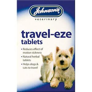 Johnsons Travel-Eze Voyage Motion Sickness Soulagement pour Chats & Chien Herbes