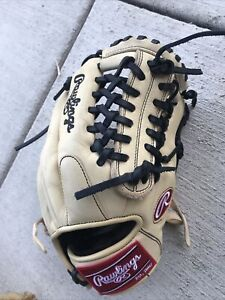 "Rawlings GG Elite 11.75"" Baseball Glove Mitt RIGHT handed HARDLY WORN!"