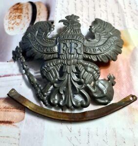 Plaque de casque à pointe  en fer prussienne modèle 15 ww1