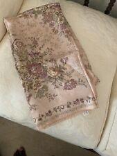 LAURA ASHLEY 100% Silk Scarf Made In ITALY MultiColor
