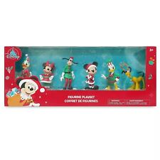 Disney Mickey Mouse & Friends Christmas Action Figures Figurine Figure Set of 6