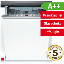 Bosch SBV46NX03E Vollintegrierbarer Einbau Geschirrspüler InfoLight Spüler