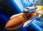 REVELL 1/144 SPACE SHUTTLE DISCOVERY & BOOSTER ROCKETS # 04736