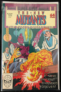 The New Mutants Annual #4; Grading: VF-/VF