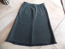 EMPORIO ARMANI Olive Ruffled Hem Slight A Line Skirt 40