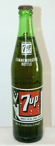 7 UP St Louis MO 50 YR Commemorative ACL Soda Bottle 1979 FULL SWIMSUIT GIRL