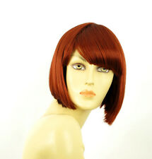 wig women short smooth copper intense ref: MAIA 350 PERUK