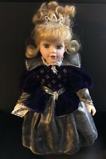 "Victorian Garden ""Ice Princess� Porcelain Doll Immaculately Kept"