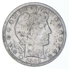BETTER Coin 1902 Barber Half Dollar - Look it up! *305