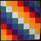 WIPHALA FLAG - Native Peoples - Symbol of the Andean 50 CM x 50 CM - Whipala