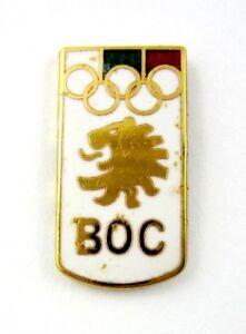 BULGARIA NOC OLYMPIC PIN BADGE GENERIC 1990's