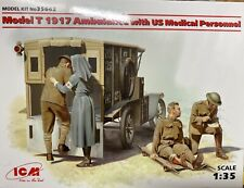 ICM 1:35, Modell T 1917 Ambulance mit US Medical Personal