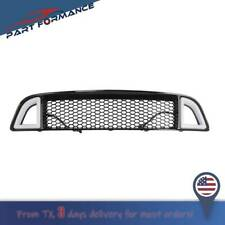 For 2013 2014 Ford Mustang Non Shelby Front Bumper Upper With White Led Grille Fits Mustang