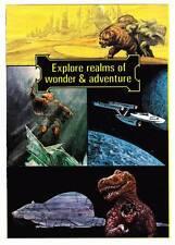SCIENCE FICTION BOOK CLUB promotional pamphlet 1970s - Star Trek, Pern, etc