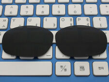 Replacement Black Polarized Lenses for Big Square Wire Sunglasses