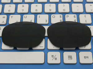 Replacement Black Polarized Lenses for-Oakley Big Square Wire Sunglasses