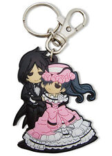 **License** Black Butler PVC Keychain SD Dancing Sebastian & Ciel #36646