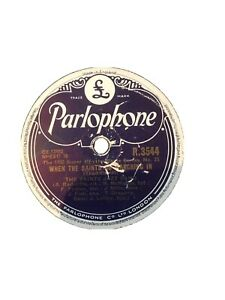 THE SAINTS JAZZ BAND WHEN THE SAINTS GO MARCHING IN  & SAVOY BLUES PARLO R3544
