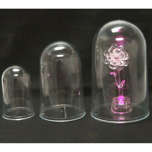 "Clear Plastic Dome Case Display Centerpiece 3.75"", 5.375"", 6.875"""